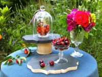 Un présentoir champêtre pour vos buffets d'été