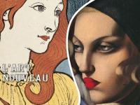Art nouveau versus Art déco