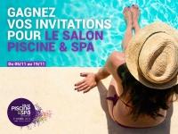 Jouez et gagnez des places pour le Salon Piscine & Spa !