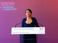 """""""2014 sera une année de combat"""" (Cécile Duflot)"""