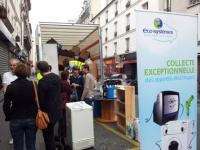 Les petits appareils électriques davantage recyclés en 2013