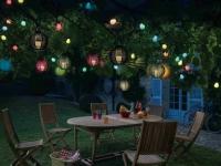 Des luminaires solaires de jardin pour des nuits étoilées