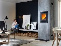 Le bois de chauffage se fait une place dans la maison