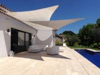 Les voiles d'ombrage : Dix maisons, dix styles