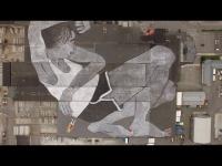 Deux artistes français signent une fresque géante (VIDEO)