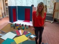 Sarah Lavoine signe sa première collection de peinture