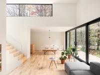 Au Canada, une maison transpercée par la nature