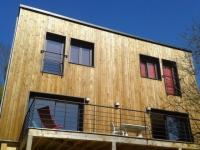 Une maison sauvée de la destruction par une extension bois