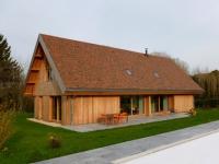 Une maison francilienne inspirée des granges de la région