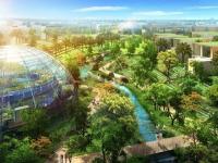 Une ville durable surgit du désert à Dubaï