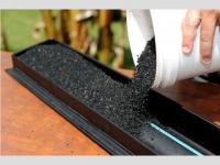 Solution anti-nuisibles : des filtres à gouttières en pneus recyclés