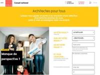 Trouver un architecte diplômé via géolocalisation