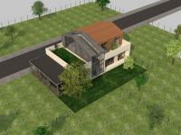Une maison individuelle conçue pour être partagée