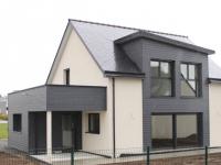 Une maison passive construite à partir de béton cellulaire