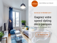 Concours : tentez de gagner un speed dating déco