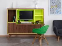 """Le """"bureau à vivre"""", nouveau concept pour travailler en toute discrétion à la maison"""