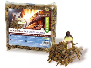 WOODSTOCK bois braise express®