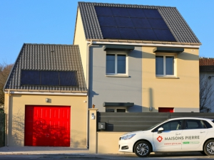 Domotique et photovoltaïque pour une maison-test