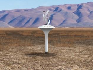 WaterSeer, une mini-éolienne qui crée de l'eau potable