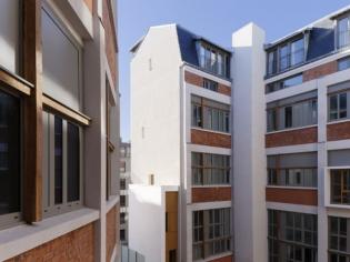 Une laiterie parisienne transformée en logements