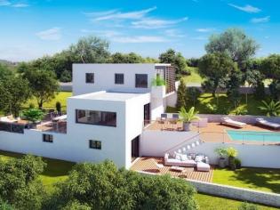 Une villa contemporaine à flanc de colline mise sur la vue panoramique