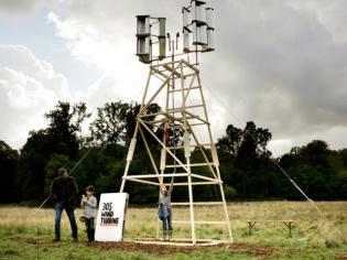 Fabriquer une éolienne soi-même pour 30 euros, c'est possible
