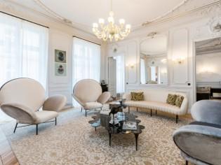 Un appartement rénové dans un esprit haute couture
