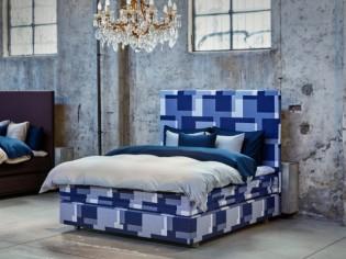 Deux lits s'offrent une robe d'exception