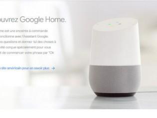 Assistant virtuel dans les maisons : Google Home disponible en France cet été