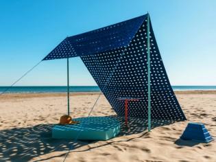 Du mobilier de plage aux accents architecturaux