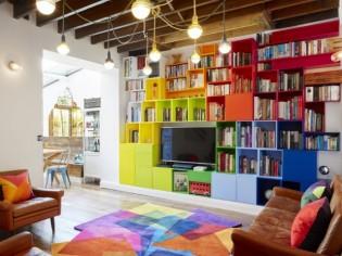 Déco : osez les livres du sol au plafond !