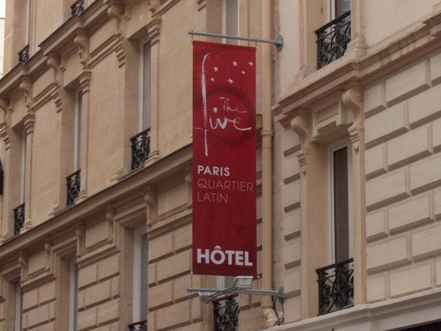 five hotel facade ter