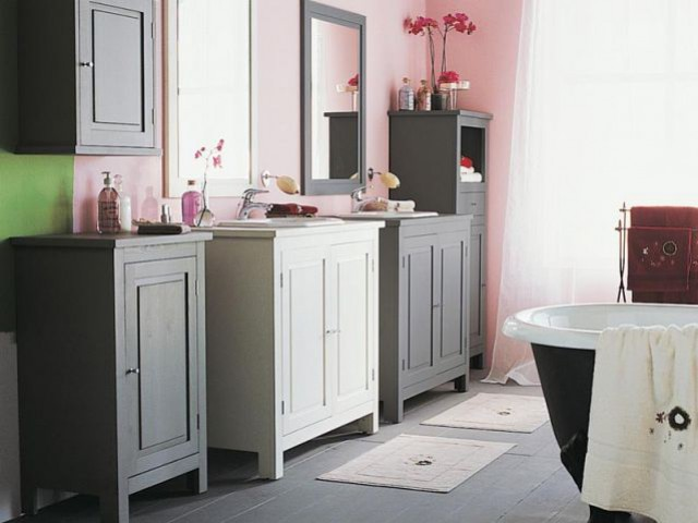 salle de bains jadis