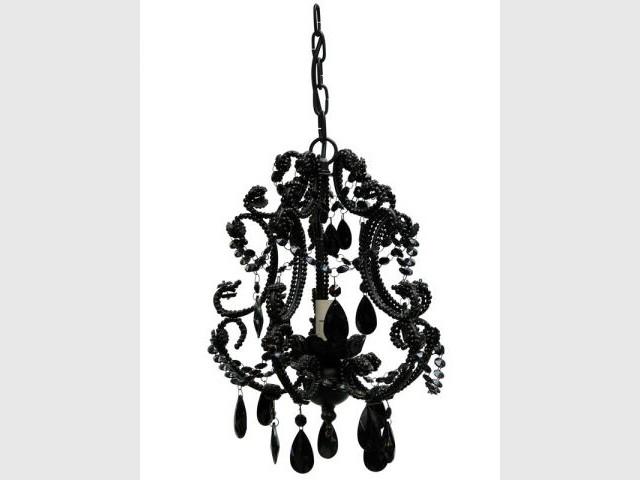 Lustre noir baroque amadeus