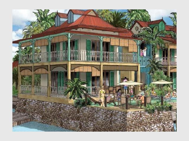 Maisons de type colonial