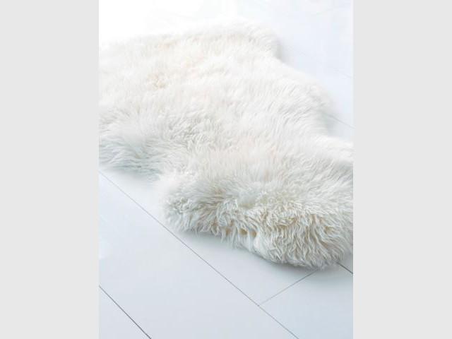 Tendance blanc - Ikea peau de bete ...