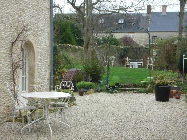 Maison de charme en normandie for Le jardin normand