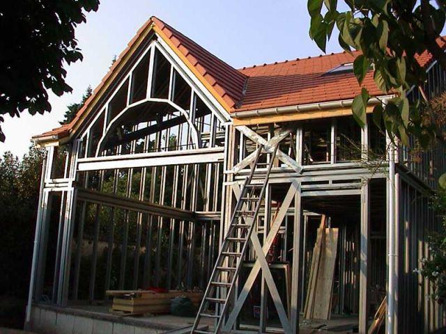 Une maison ossature acier - Cout maison ossature metallique ...