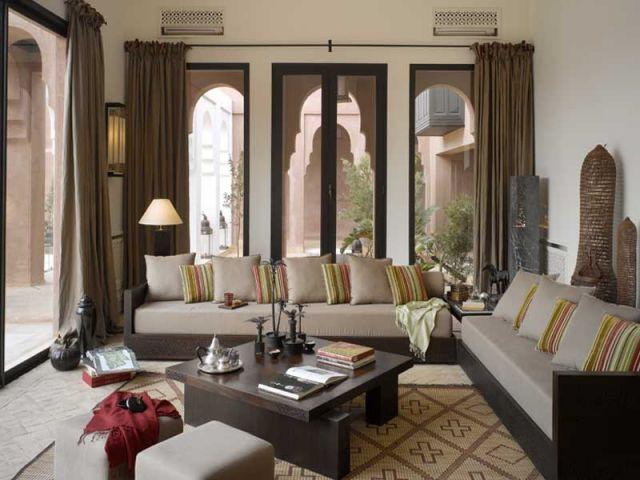 Coup de coeur pour les parcs de l 39 agdal for Decoration villa marocaine