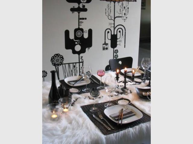 En noir et blanc - Laure Leroy - ideeologis.com