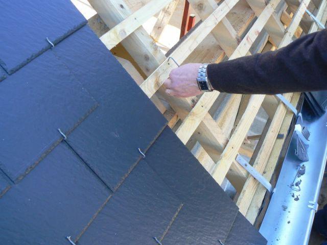 poser une toiture en ardoises - étape 4
