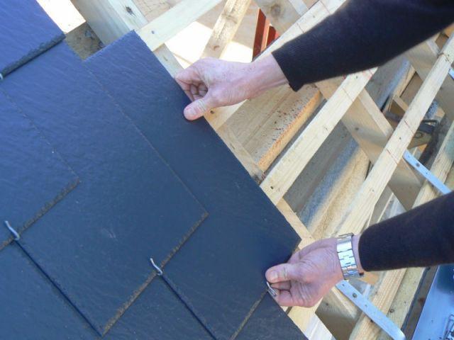 poser une toiture en ardoises - étape 5