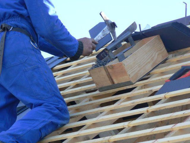 poser une toiture en ardoises - étape 9