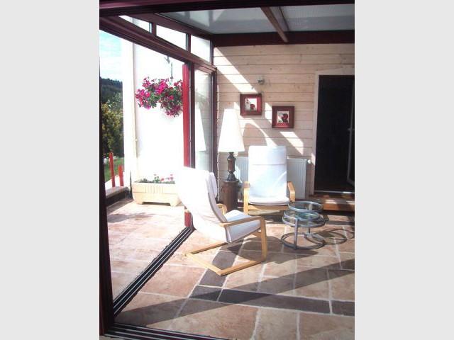 Véranda ouverte - Cardinal Jardin paysagiste-designer