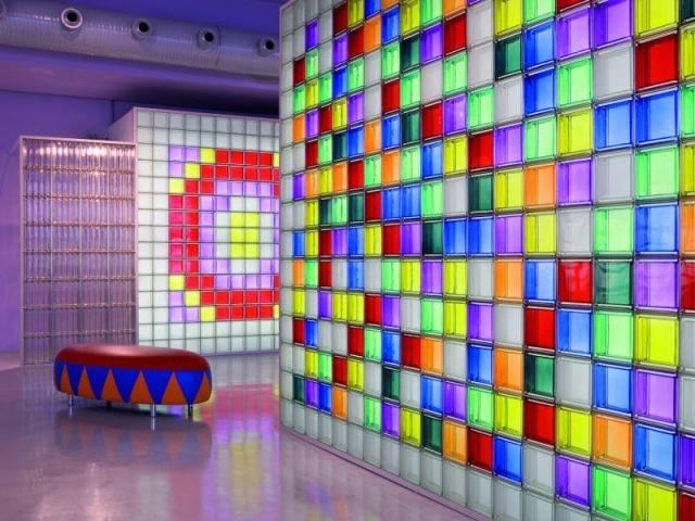 salon de Milan - nouveautés Seves glassblock