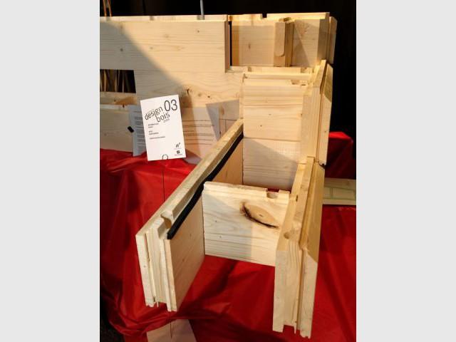 concours design bois la cr ation wallonne l 39 honneur. Black Bedroom Furniture Sets. Home Design Ideas