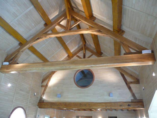 Charpente - reportage piscine intérieure - Christelle Brosset - Provins