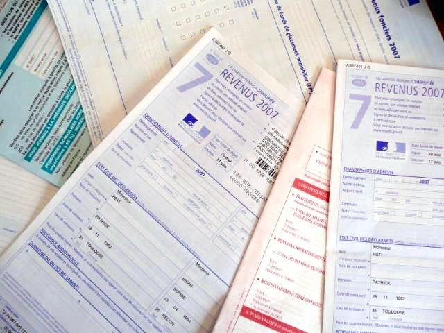 impôts sur le revenu fiscalité déclaration