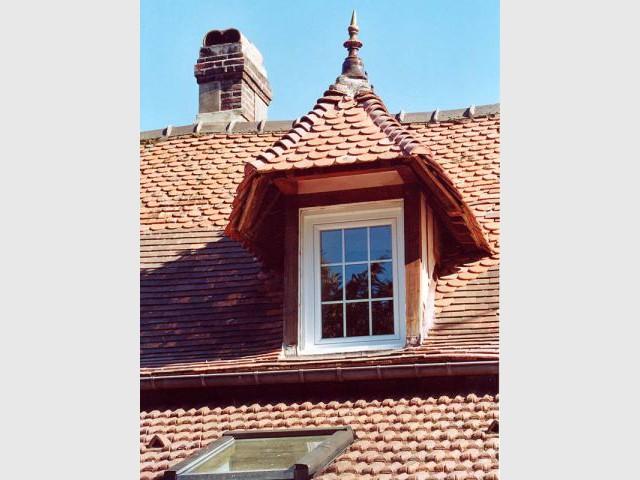 Fen tres sur toit for Assis a la fenetre