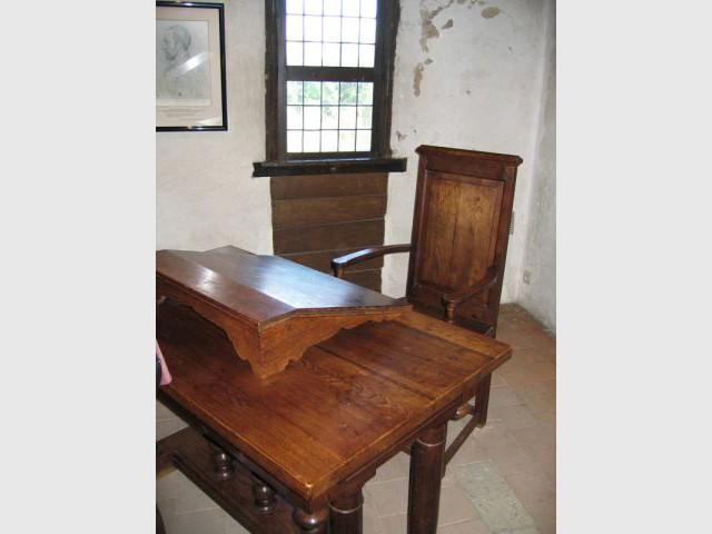 Le cabinet de Ronsard - Prieuré de Saint-Cosme